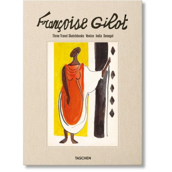 Françoise Gilot - Three travel sketchbooks: Venise, India, Senegal