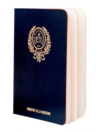 Livro Parisian Chic Passport - Azul